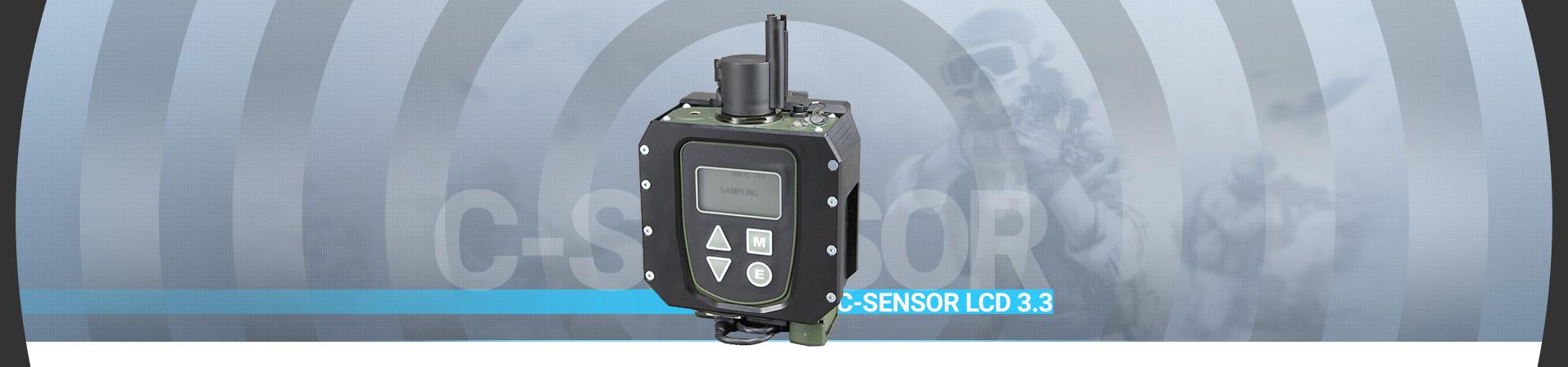 Akcesoria CBRN C-Sensor LCD3.3